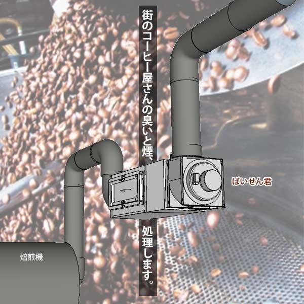 C-Box-1TB 小型コーヒー焙煎排気処理装置「ばいせん君」 c-clie-shop 02