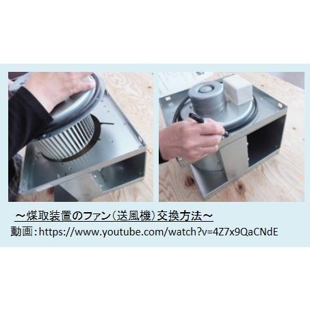 C-Box-1TB 小型コーヒー焙煎排気処理装置「ばいせん君」 c-clie-shop 08