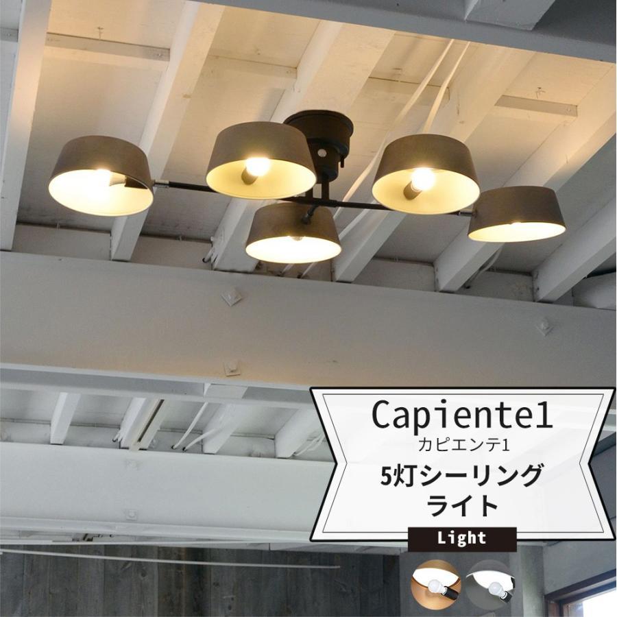 照明 天井 おしゃれ シーリングライト 5灯 LED 電気 Capiente1 Capiente1 カピエンテ1 Lu Cerca 直送品
