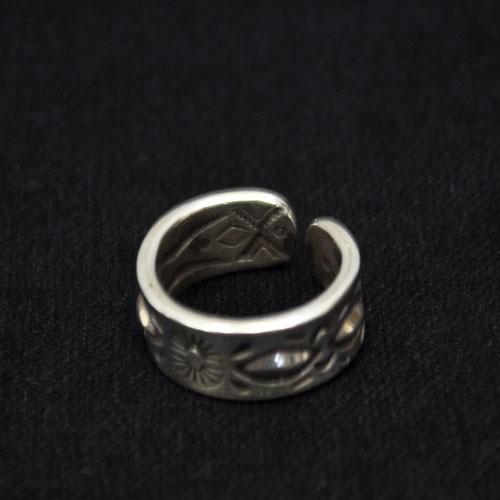 おすすめネット RAY ADAKAI Ring/レイアダカイ DBL Stamp Ring Open End End (A) (A) 送料無料, MiSAIL:d3da9894 --- airmodconsu.dominiotemporario.com