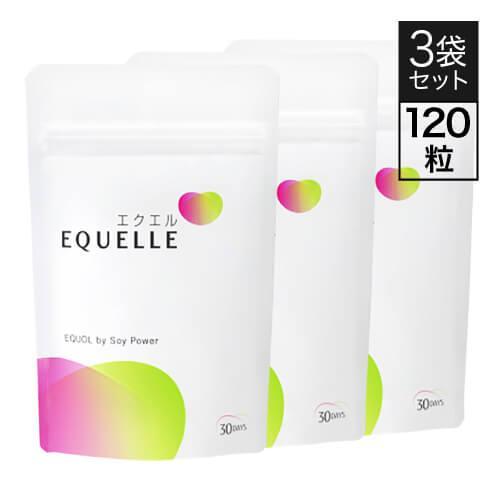 エクエル パウチ 120粒×3袋 大塚製薬 エクオール cabe-bata