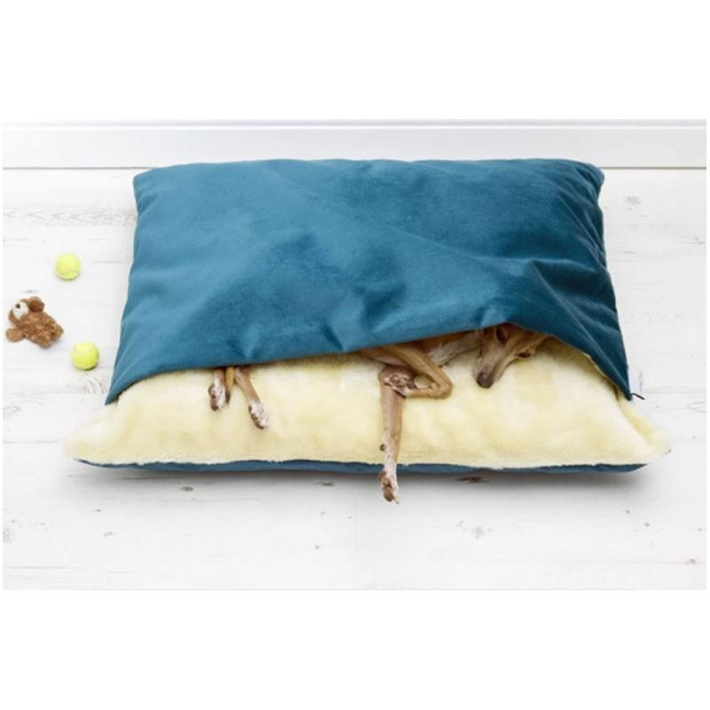 ペットベッド 犬 猫 ペットクッション 寝袋 暖かい もぐりこめる 布団 マット ブランケット 小型犬 超小型犬|cactus0812|02
