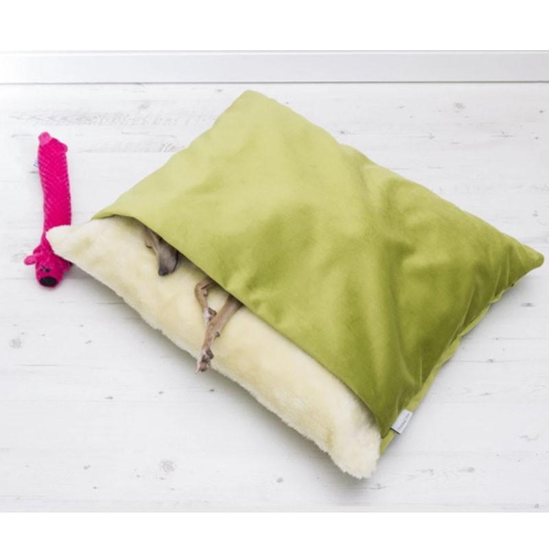 ペットベッド 犬 猫 ペットクッション 寝袋 暖かい もぐりこめる 布団 マット ブランケット 小型犬 超小型犬|cactus0812|03