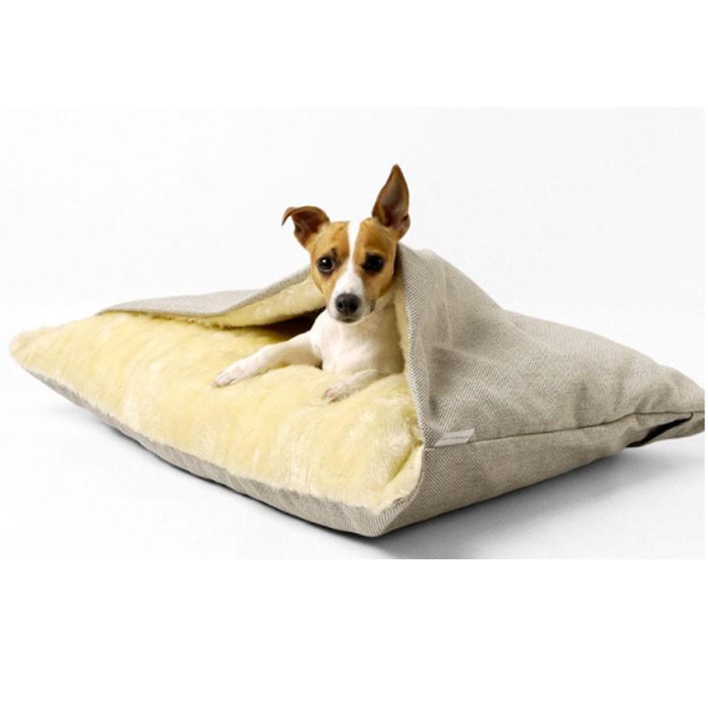 ペットベッド 犬 猫 ペットクッション 寝袋 暖かい もぐりこめる 布団 マット ブランケット 小型犬 超小型犬|cactus0812|04