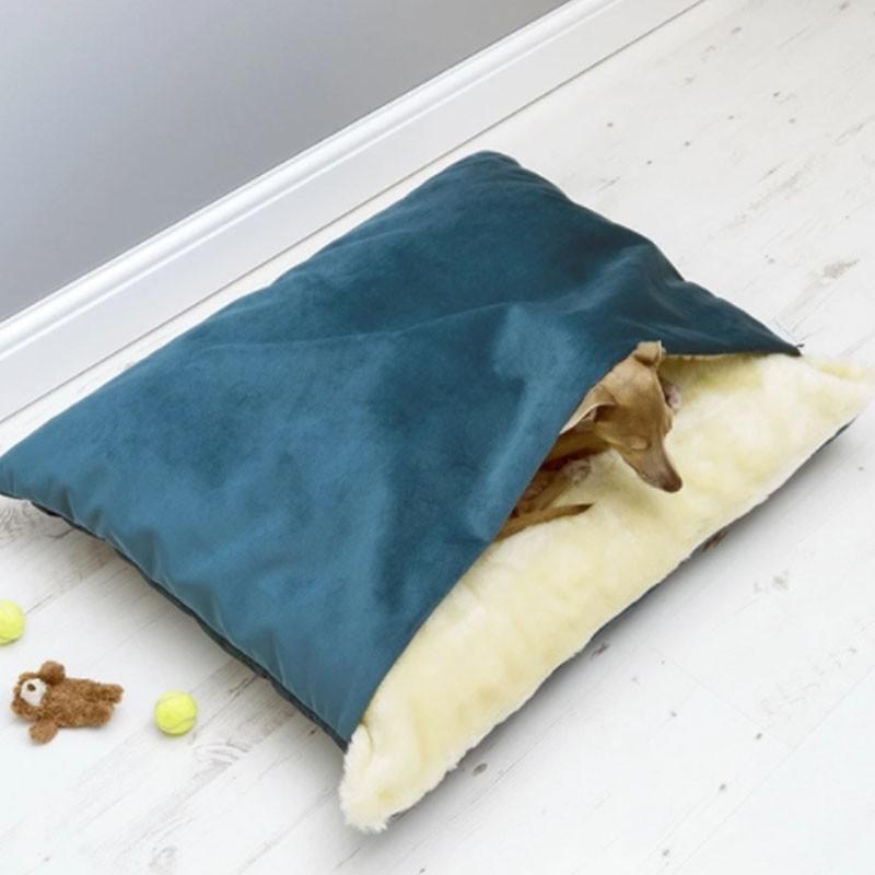 ペットベッド 犬 猫 ペットクッション 寝袋 暖かい もぐりこめる 布団 マット ブランケット 小型犬 超小型犬|cactus0812|05