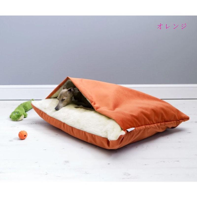 ペットベッド 犬 猫 ペットクッション 寝袋 暖かい もぐりこめる 布団 マット ブランケット 小型犬 超小型犬|cactus0812|09