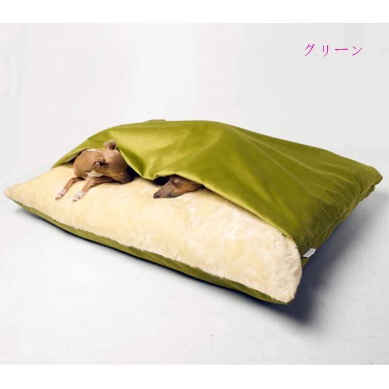 ペットベッド 犬 猫 ペットクッション 寝袋 暖かい もぐりこめる 布団 マット ブランケット 小型犬 超小型犬|cactus0812|10