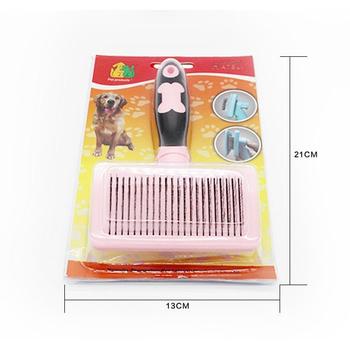 グルーミング ペットブラシ 犬 猫 抜け毛 対策 片手 簡単|cactus0812|03