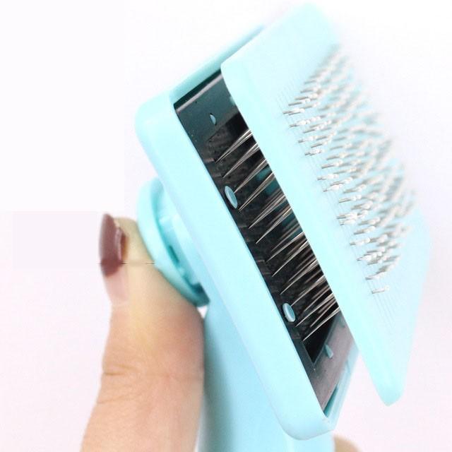 グルーミング ペットブラシ 犬 猫 抜け毛 対策 片手 簡単|cactus0812|05