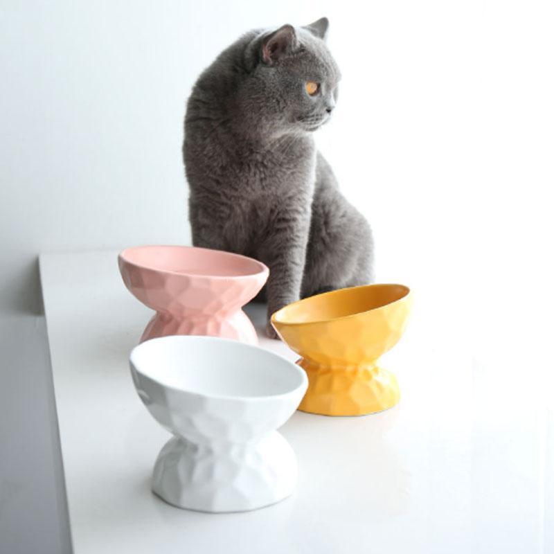 ペット用食器 犬 猫用 しょっき フードボウル 犬用品・猫用品 ペット用品 ペットグッズ 食べやすい陶器食器|cactus0812|04