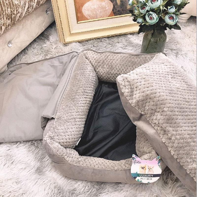 キャットハウス ドーム型 ペットベッド 猫ベッド 猫用ベッド 室内用 猫 ネコボックスベッド ペットハウス ペットソファ ネコ ペット用 キャットベッド|cactus0812|03