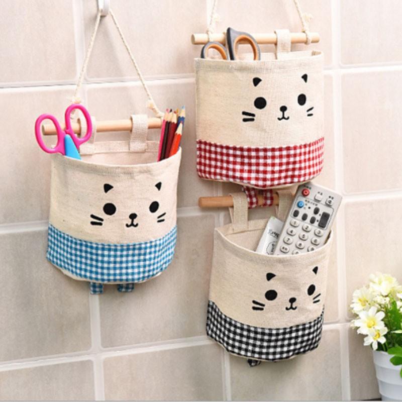 ウォールポケット ウォールケース 壁掛け袋 収納 小物入れ 可愛い かわいい 便利 便利グッズ ウォール ポケット 動物 cactus0812 02