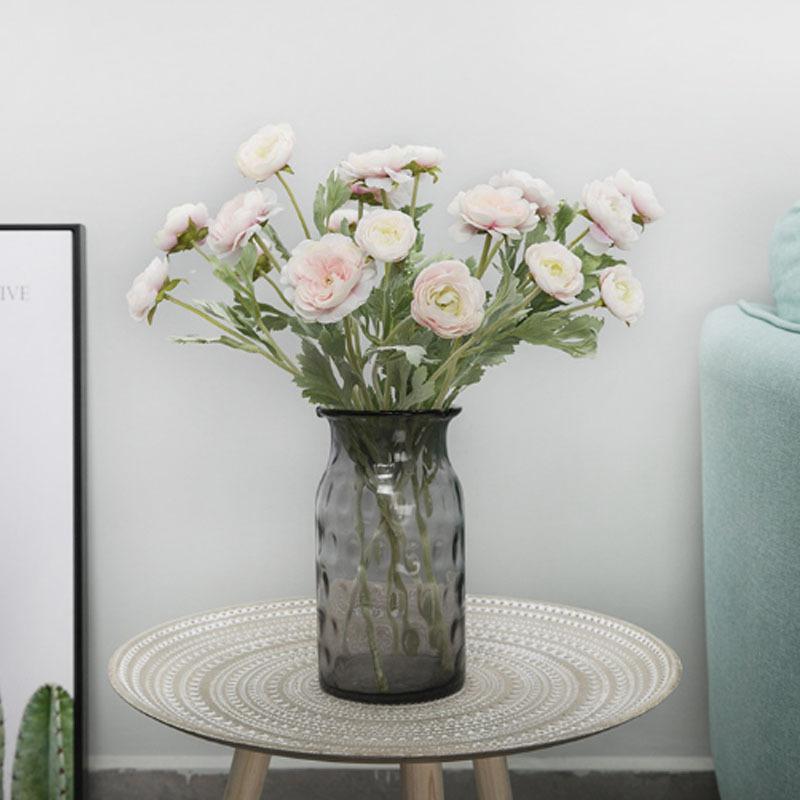 造花 インテリア フラワーアレンジメント ブーケ パーツ プレゼント ギフト 1束1本 引越し祝い 結婚祝い 退職祝い 花飾り 高級 おしゃれ|cactus0812|02