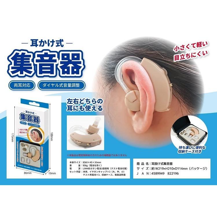 小さく 軽い 耳掛け式集音器 50個まとめ売り cafaitplaisir 01