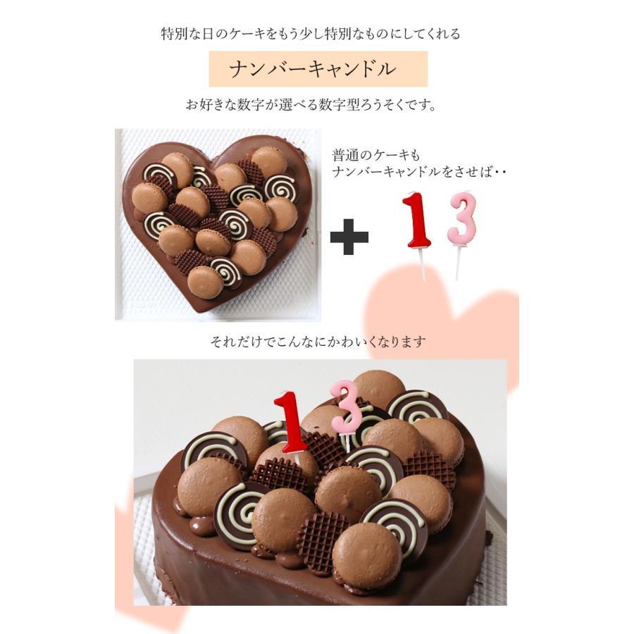 ケーキ用数字型ろうそく ナンバーキャンドル|cake-tairiku|02