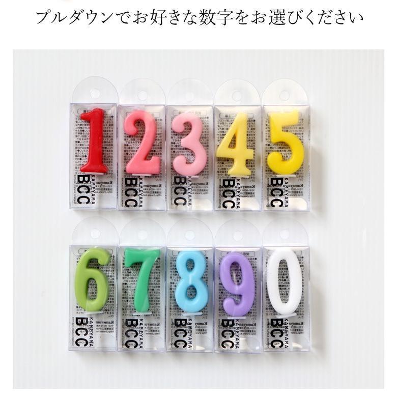 ケーキ用数字型ろうそく ナンバーキャンドル|cake-tairiku|03