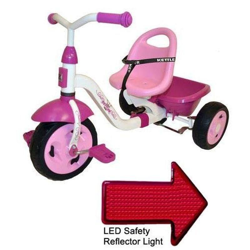 ケトラー 子供用三輪車 Kettler 8838-790 Kettrike Happy Prinzessin Navigator with LED Reflector Light