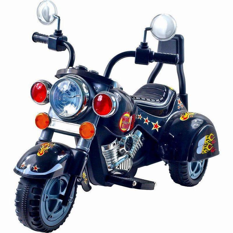 ロックンローラーズ ロードウォリアー3輪 電動オートバイ 6Vバッテリー付 Rockin' Rollers Road Warrior 3-Wheel Motorcycle 6-Volt Battery-Powe赤 Ride-On