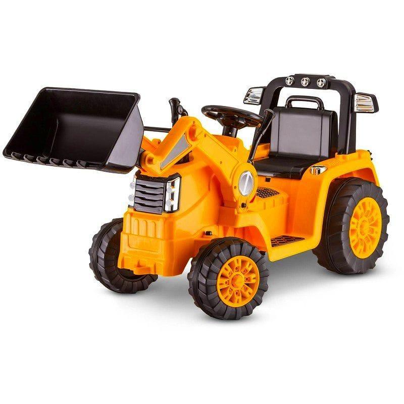 乗用玩具 ブルドーザー 3-5才 体重27kgまで 時速最大4km キッドトラックス 電動自動車 6Vバッテリー付 電気自動車 子供用 入学式 入園式 赤ちゃん 電動カー