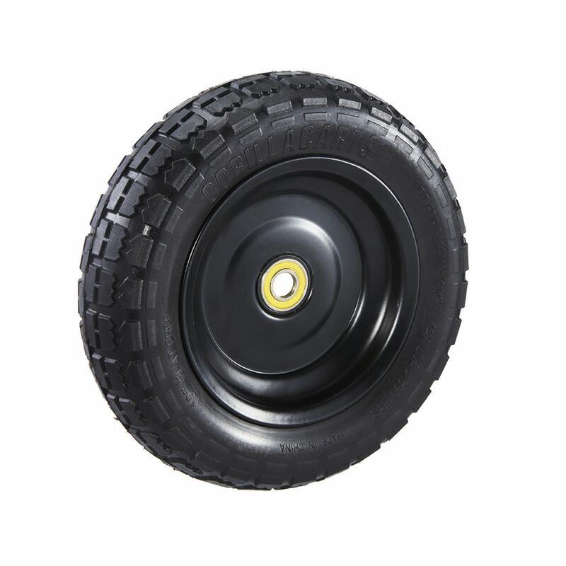 """ゴリラカート タイヤ 25cm 2個セット パーツ 部品 Gorilla Carts GCT-10NF GCT-10NF GCT-10NF Replacement Tire, 10"""" (2-pack) 7b9"""