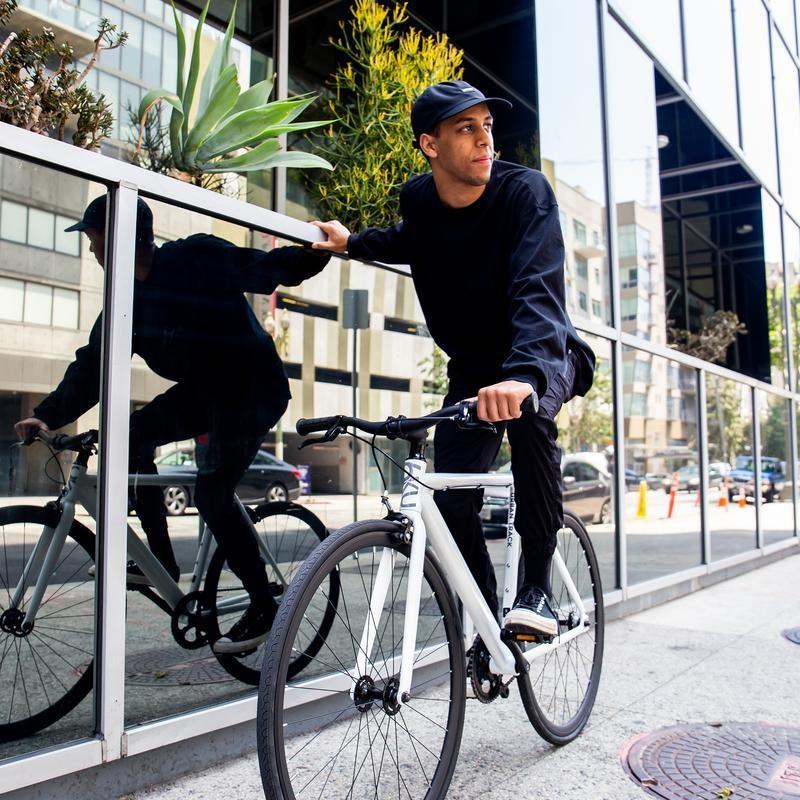 6KU Aluminum Fixed Gear Single-Speed Fixie Urban Track Bike