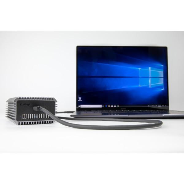 CalDigit Connect 10G - Thunderbolt 3 to 10Gbイーサネットアダプター Mac & PC対応|caldigit-japan|06
