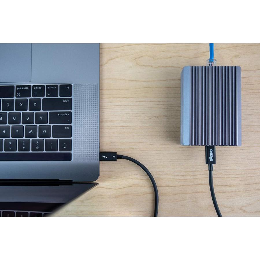 CalDigit Connect 10G - Thunderbolt 3 to 10Gbイーサネットアダプター Mac & PC対応|caldigit-japan|09