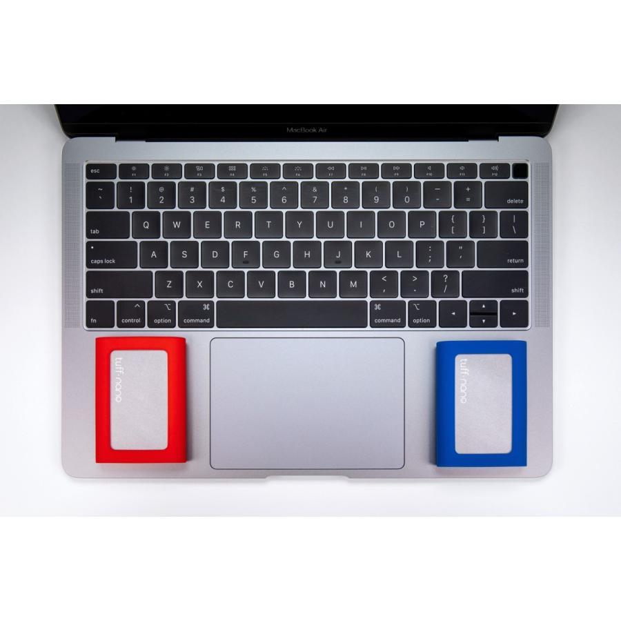 CalDigit Tuff nano ポータブル外付けSSD 512GB USB-C 3.2 Gen 2 caldigit-japan 15