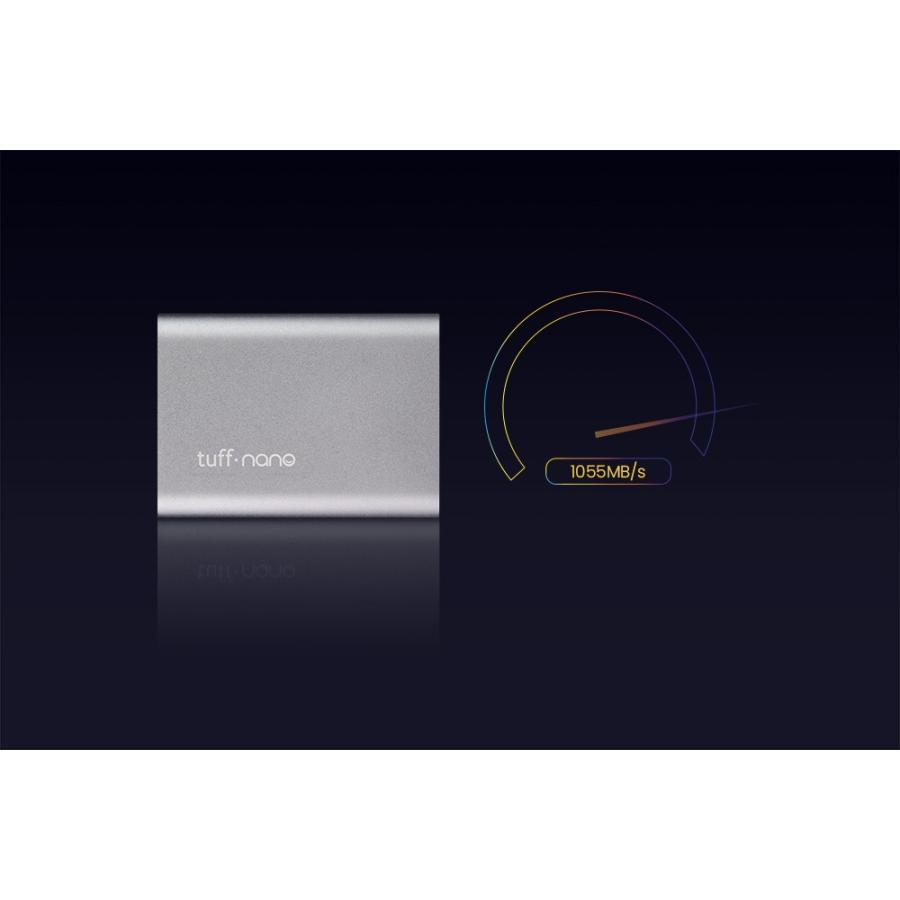 CalDigit Tuff nano ポータブル外付けSSD 512GB USB-C 3.2 Gen 2 caldigit-japan 06
