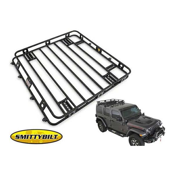 [Smittybilt 正規品] 18y- ジープ JLラングラー(アンリミテッド)用 ディフェンダーラック 45454