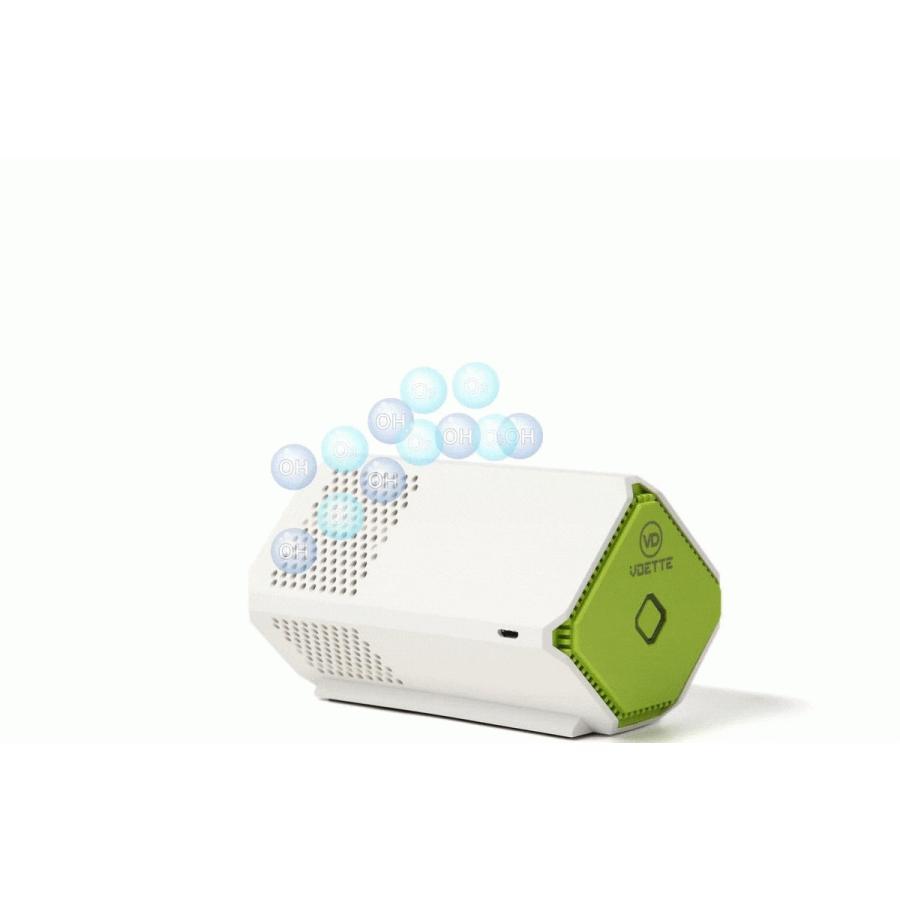 「累計14,000台突破〉Plasma Clear 空気清浄機 除菌 消臭 小型 脱臭 持ち運べる フィルターレス バッテリー内蔵|calm-shop|04