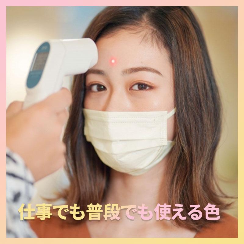 不織布 使い捨てマスク 200枚 血色マスク三層フィルター 立体型 大人用 ふつうサイズ ベージュ 清潔 飛沫対策 花粉対策 男女兼用 抗菌通気|calmeahre|04