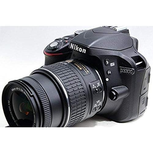 ニコン Nikon D3300 18-55 VR IIレンズキット ブラック D3300LKBK 新品SDカード付き <プレゼント包装承ります>|camera-fanksproshop