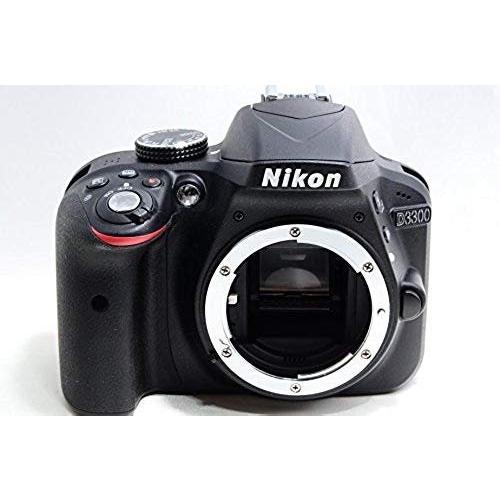 ニコン Nikon D3300 18-55 VR IIレンズキット ブラック D3300LKBK 新品SDカード付き <プレゼント包装承ります>|camera-fanksproshop|02