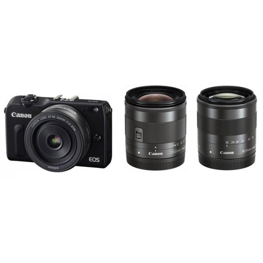 キヤノン Canon EOS M2 トリプルレンズキット 新品SDカード付き <プレゼント包装承ります>
