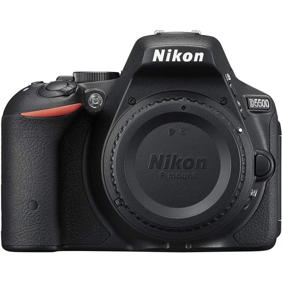 ニコン Nikon D5500 ボディー ブラック SDカード付き <プレゼント包装承ります>|camera-fanksproshop|03