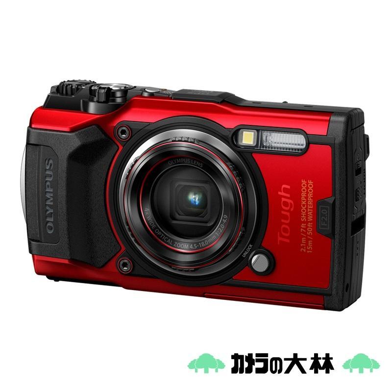 最安値に挑戦 OLYMPUS オリンパス コンパクトデジタルカメラ TG-6 安売り レッド Tough