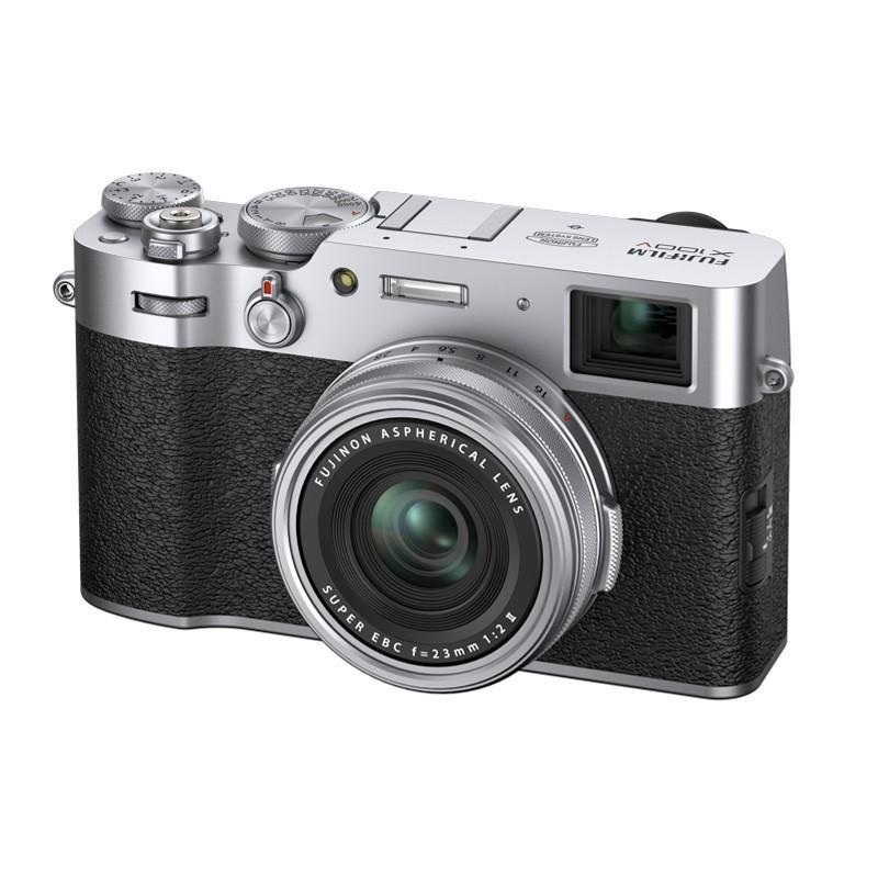 正規品 割り引き FUJIFILM X100V コンパクトデジタルカメラ シルバー