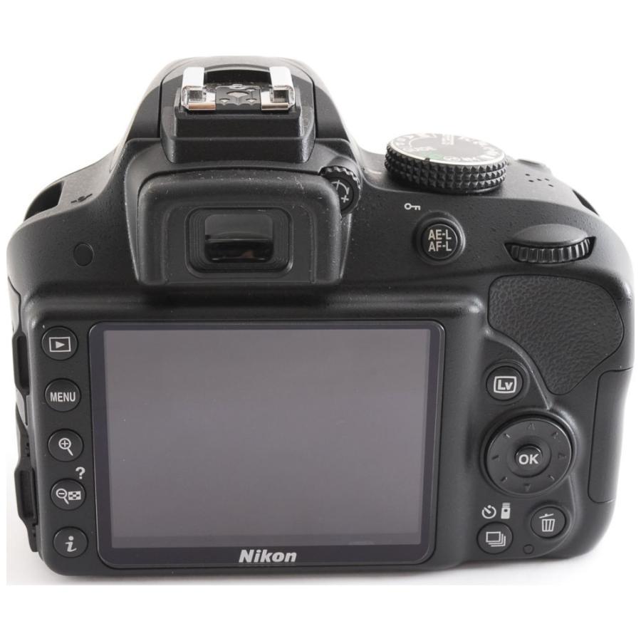 カメラ 一眼レフ Nikon ニコン D3300 ブラック 18-55mm レンズキット|cameracantik|03