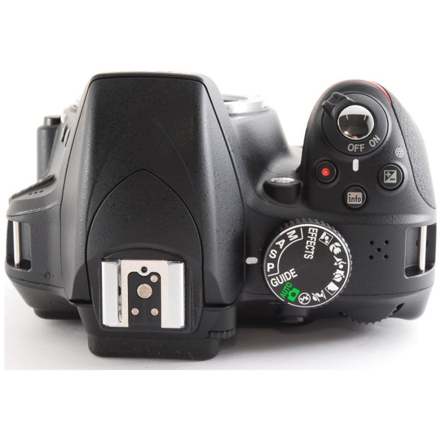 カメラ 一眼レフ Nikon ニコン D3300 ブラック 18-55mm レンズキット|cameracantik|04
