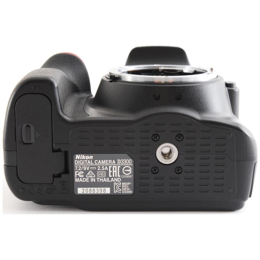 カメラ 一眼レフ Nikon ニコン D3300 ブラック 18-55mm レンズキット|cameracantik|05