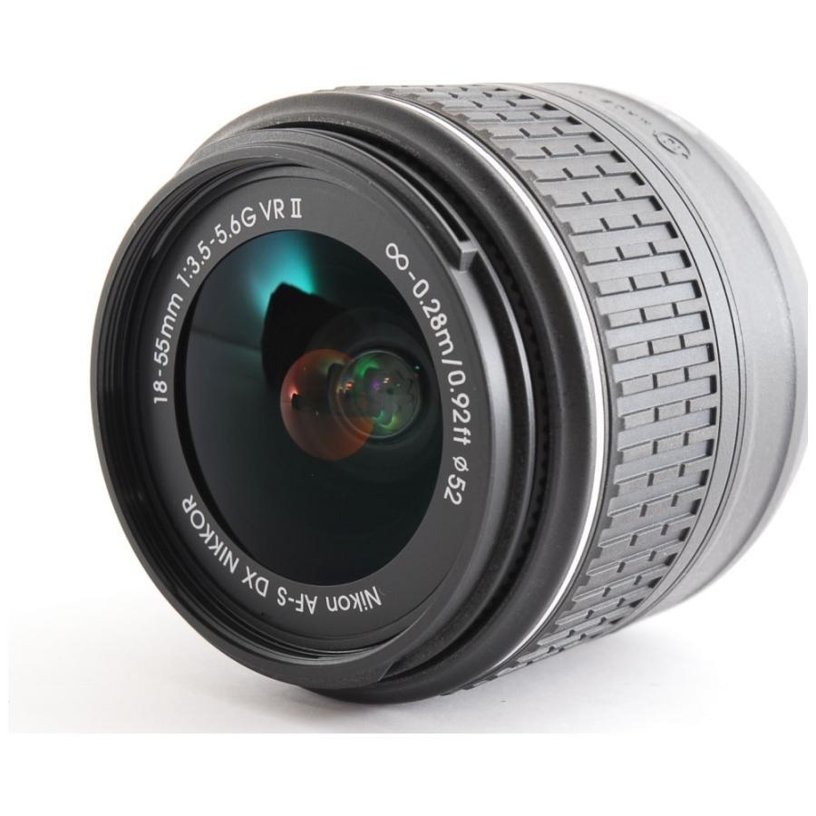 カメラ 一眼レフ Nikon ニコン D3300 ブラック 18-55mm レンズキット|cameracantik|06