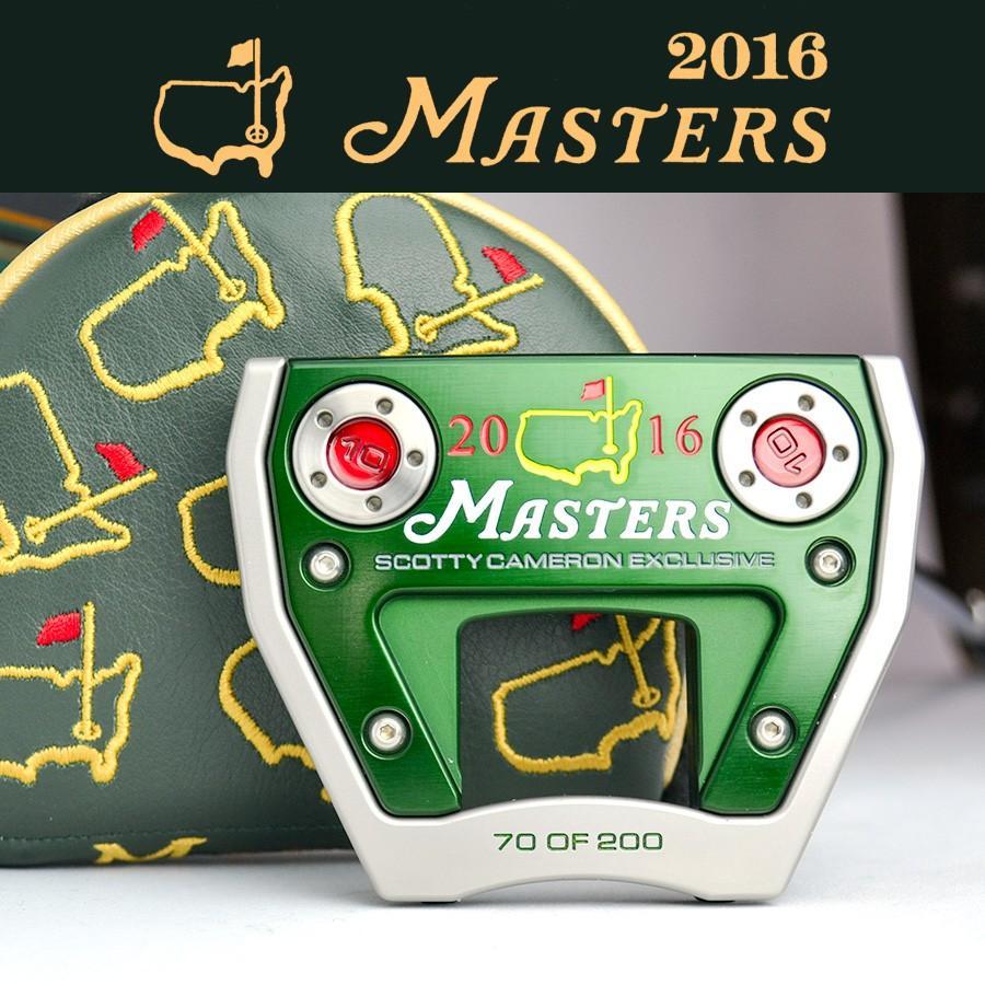 スコッティキャメロン2016 Masters Exclusive Futura X7M マスターズ ( 70 of 200 )