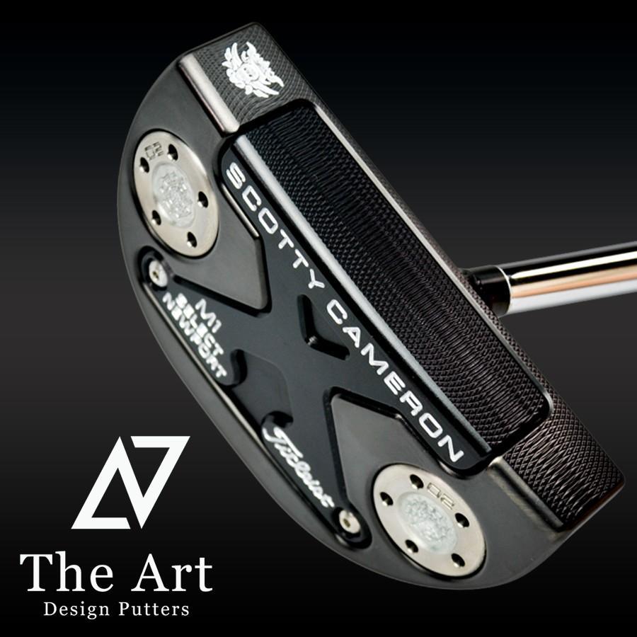 スコッティキャメロン カスタムパター 2016 ニューポート2.5 (The Art Royal Limited) The Art ブラック フィニッシュ 34インチ