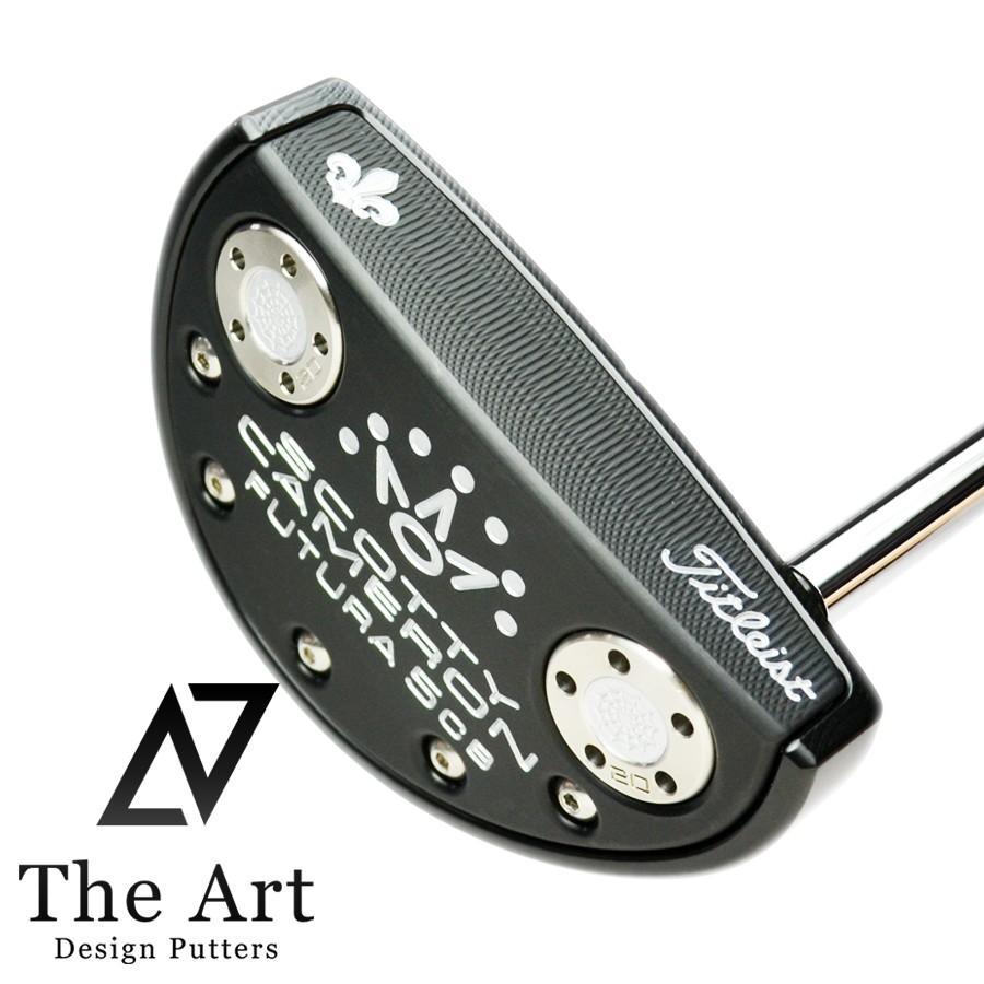 スコッティキャメロン カスタムパター FUTURA 5CB (The Art Royal Limited) The Art ブラック フィニッシュ シルバー ベントシャフト