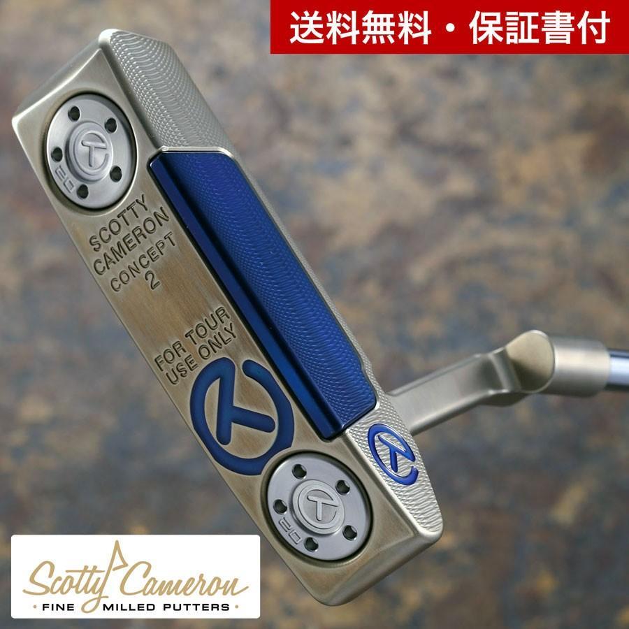 数量限定セール  スコッティキャメロン ツアーパター Tour ツアーパター Concept2 Concept2 クロマティック Bronze with an with experimental ブルー SSS インサート, アメリカン雑貨 ベリーベリー:1c518a4f --- airmodconsu.dominiotemporario.com