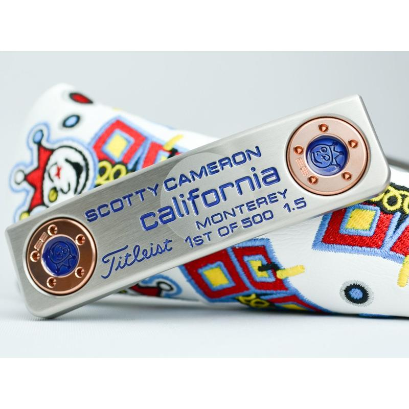 正規激安 スコッティキャメロン 1st カスタムパター 1st of 500 500 1.5 モントレー of ジャックポットジョニー カスタム, タケベチョウ:2e3df6e5 --- airmodconsu.dominiotemporario.com