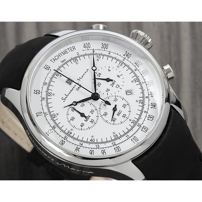 サルバトーレマーラ クロノグラフ メンズ腕時計 限定モデル 革ベルト クロノグラフ腕時計 流行 cameron 02