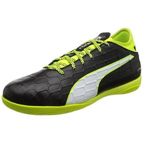 [プーマ] サッカーシューズ evoTOUCH 3 IT 103752 01 ブラック/ホワイト/セーフティ イエロー 28.0
