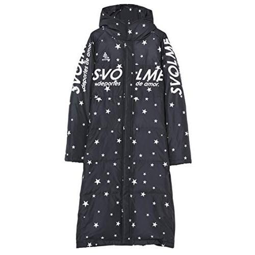 SVOLME(スボルメ) 星柄ダウンベンチコート 大人 (183-83104) 黒 Mサイズ